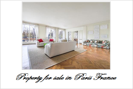 Property for sale in paris france