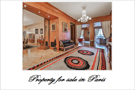 Property for sale in paris
