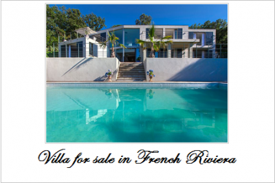 Villas for sale in french riviera 1